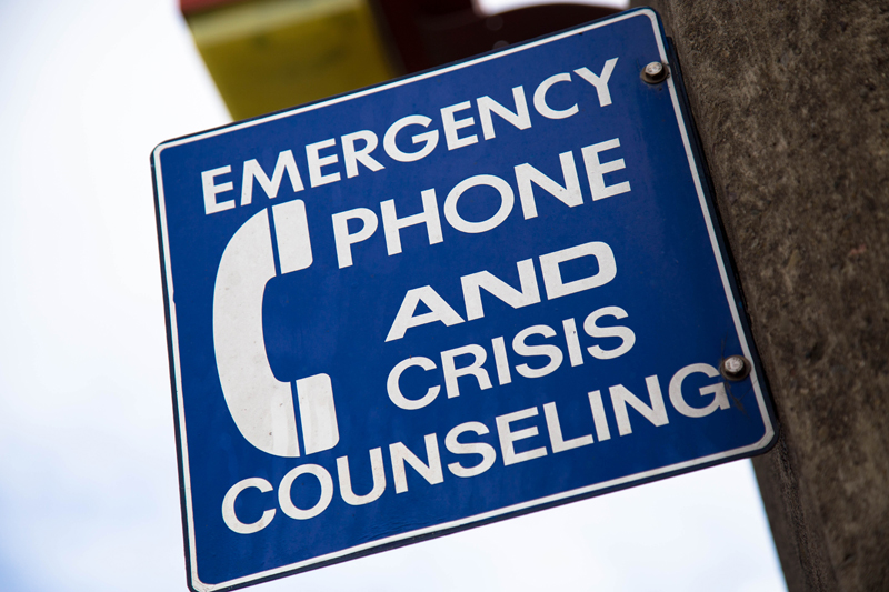 telephone crisis center insurance